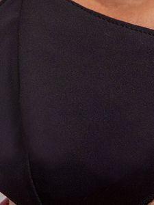 Maseczka męska BLACK wielorazowa z filtrem