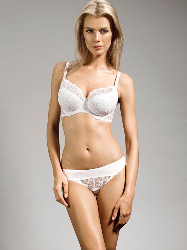 Biustonosz STELLA semi-soft K24 biały