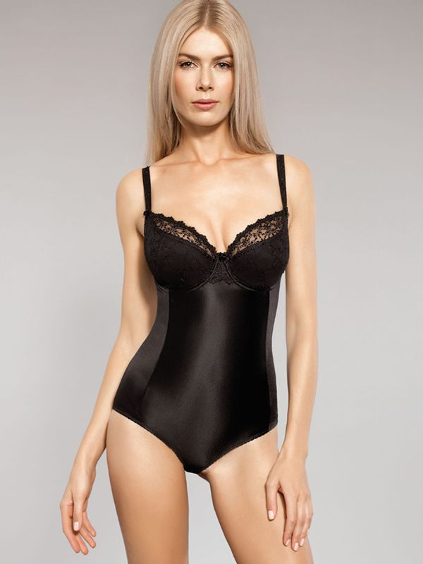 Body ANNA semi-soft K24 czarne